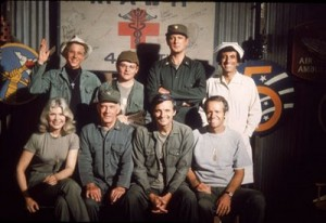 the cast of Tv's Mash